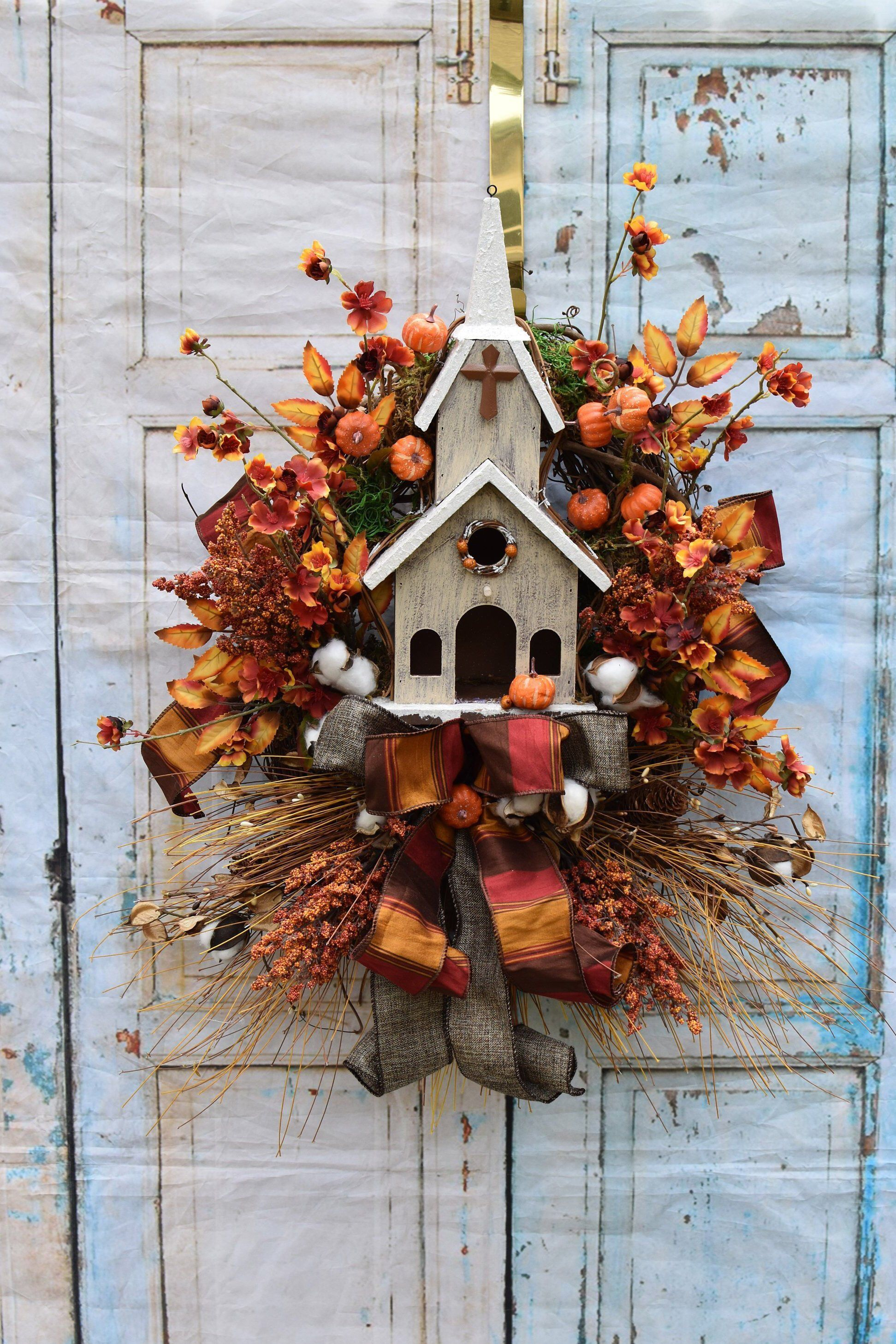 Excited To Share This Item From My Etsy Shop Fall Wreath Autumn Wreath Fall Swag Rustic Fall Wre Thanksgiving Wreaths Fall Thanksgiving Wreaths Fall Swags