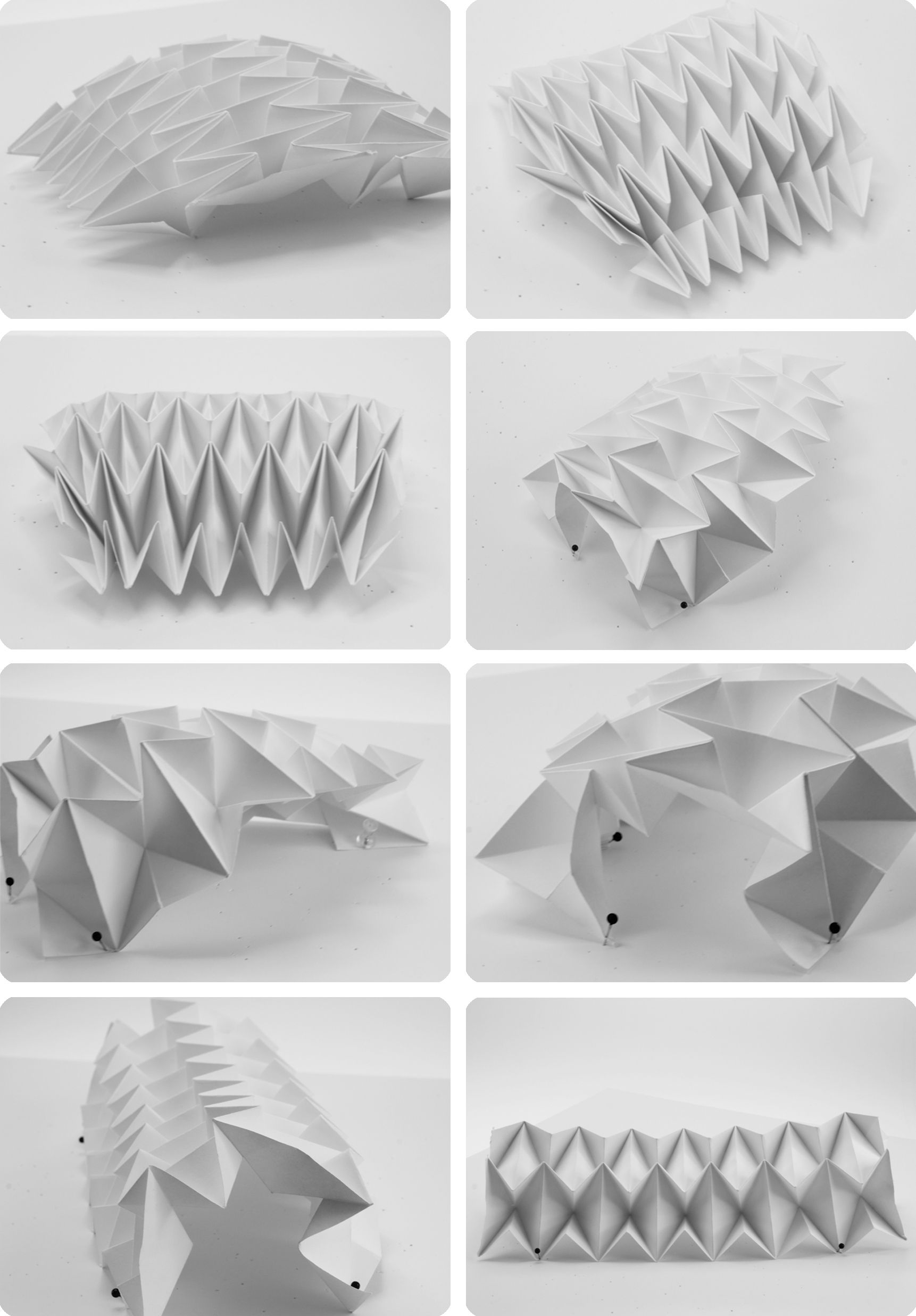 motif waterbomb, ancrages variés | cool stuff | pinterest | origami
