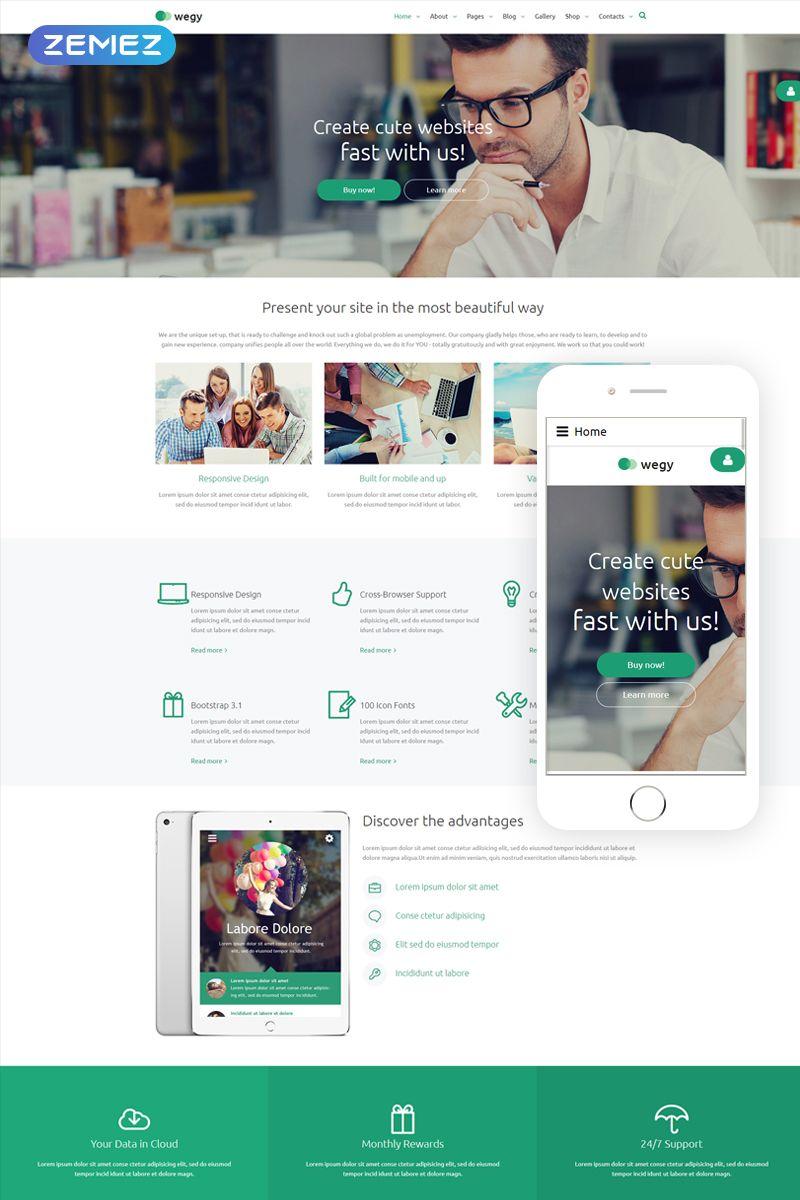 Multipurpose Business Joomla Theme For Startups And Online Stores Templatemonster Joomla Templates Best Website Templates Joomla Themes