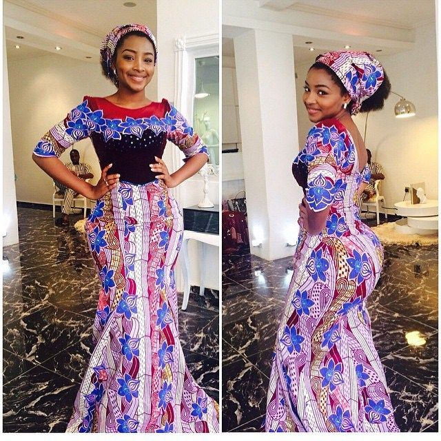 Long Ankara Lace Style For Ladies African Fashion African Fashion Dresses Lace Fashion