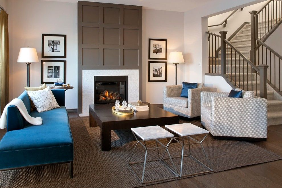 Ravishing Chimney Breast home interior design Contemporary Living ...
