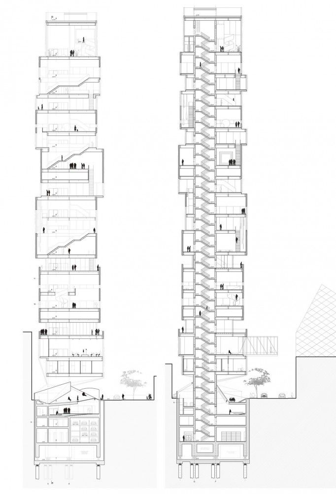 Gallery of Tokyo Fashion Museum Proposal / MUS Architects
