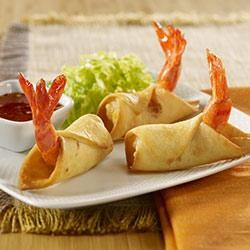 Firecracker Shrimp Taquitos #firecrackershrimp