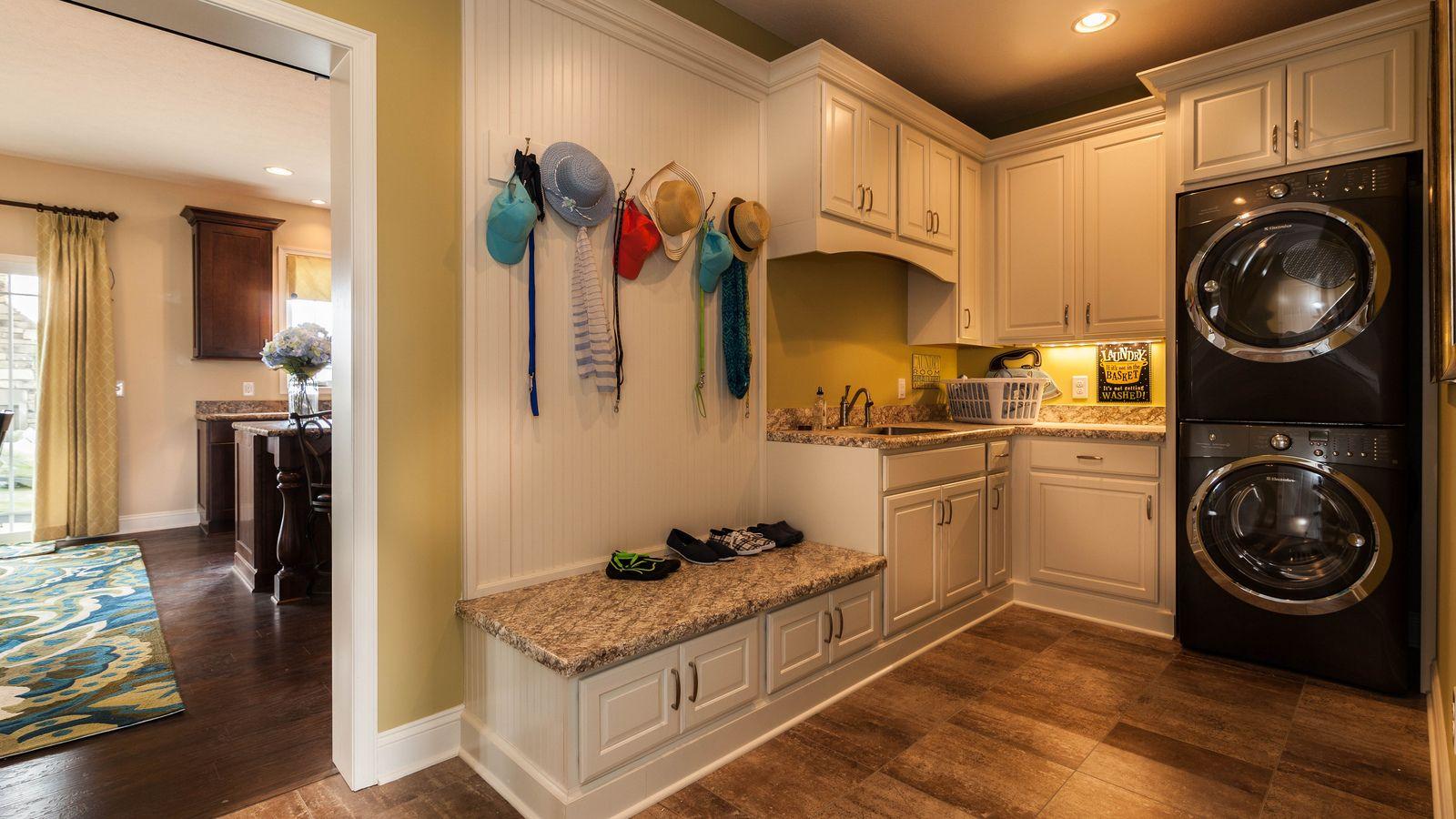 Craftsman model homes