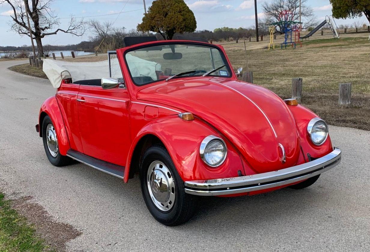 1968 Volkswagen Beetle Convertible Volkswagen sedán