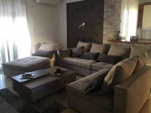 "e1e02d4b086 Από σπίτι πελάτη μας. Καλορίζικο το νέο σας σαλόνι ""Manhattan ..."