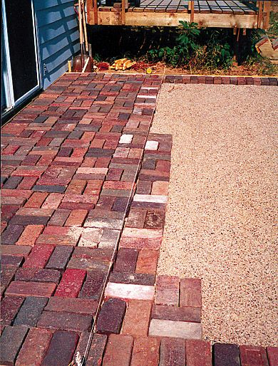 Picking Patio Pavers Patios Brick patios and Bricks