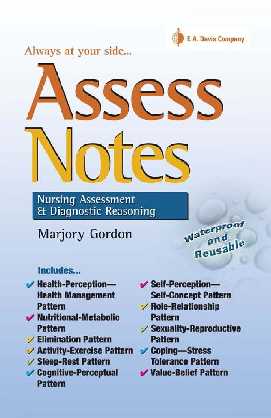 Assess Notes Nursing Assessment & Diagnostic Reasoning