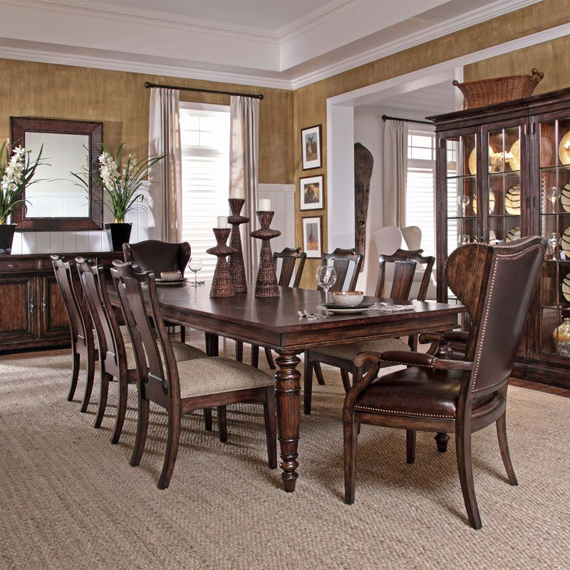 Bernhardt  Commonwealth Dining Leg Table 334222  Kentfield Brilliant Bernhardt Dining Room Set Decorating Inspiration