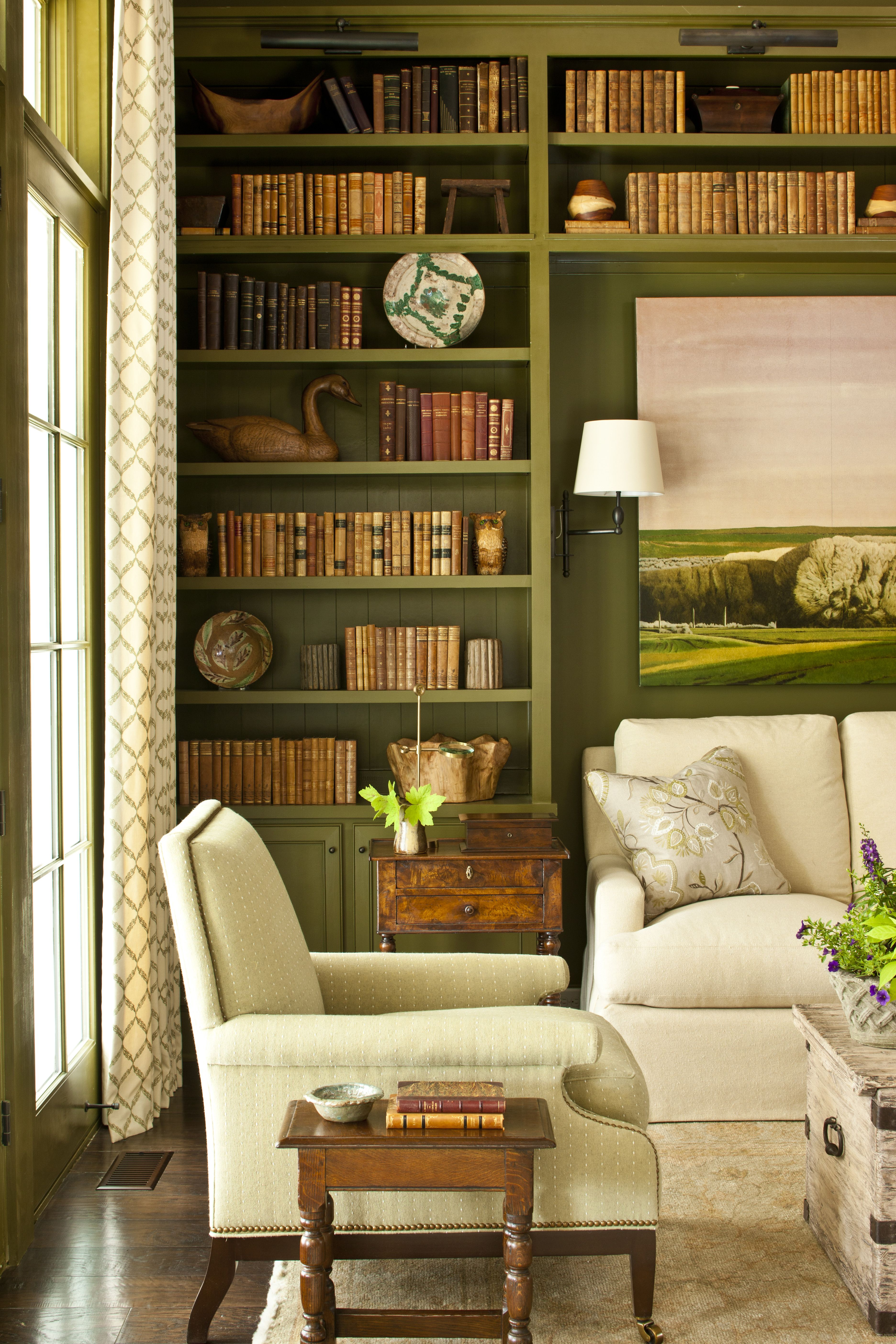Library Study Room Ideas: Study/Library At 2013 Southern Living Idea House
