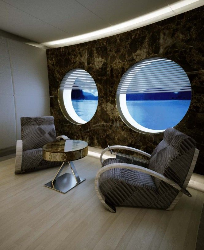 Icon 53m motoryacht Interior design by Hotlab - Owner suite details