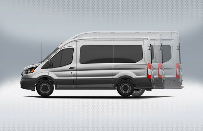 Wheelbases And Body Lengths Ford Transit Ford Van Vans