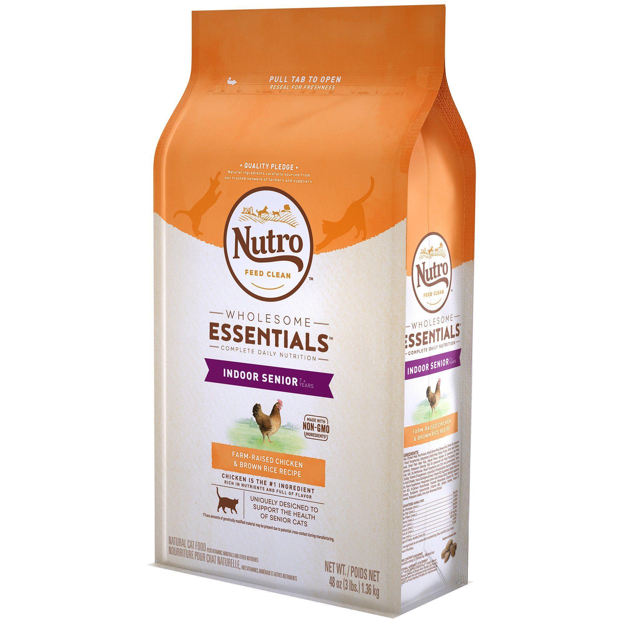 Nutro Wholesome Essentials Senior Indoor for Healthy