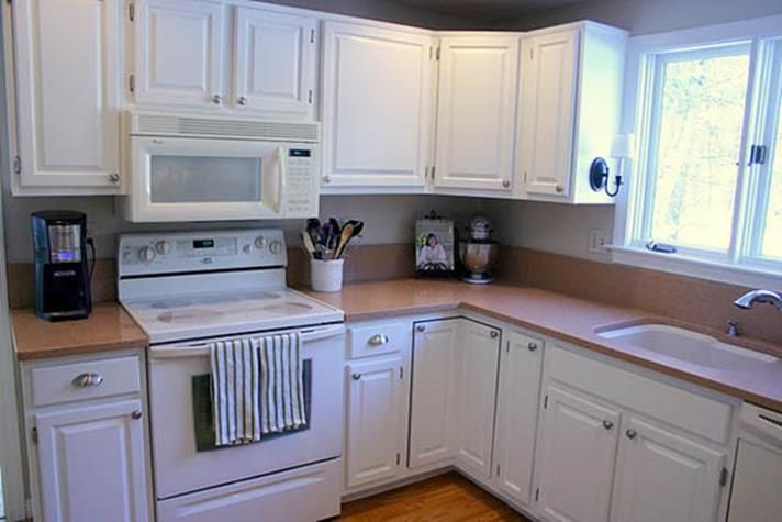 37 perfect kitchen cabinets painted white before and after konyha on kitchen cabinets painted before and after id=19509