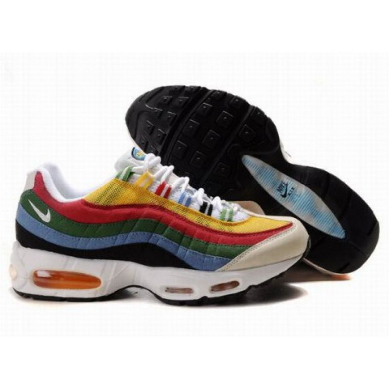 9132770500f5ba ... Retro Running  Find 307272 172 Nike Air Max 95 Olympic White Metallic  Gold Chili Red Photo Blue Lastest ...
