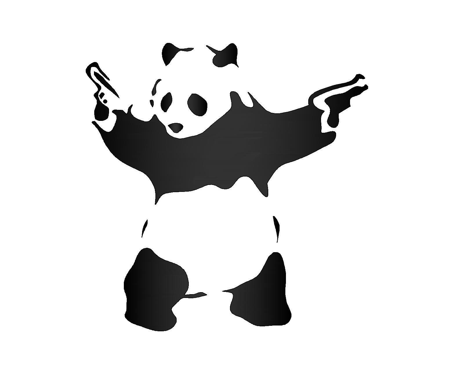 Image Result For Panda Shooting Guns Wallpaper Guns Wallpaper Wallpaper Shooting Guns