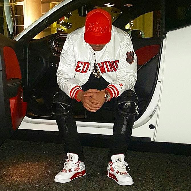 13746b47d990 DJ Envy wearing the  Alternate  89  Air Jordan 4