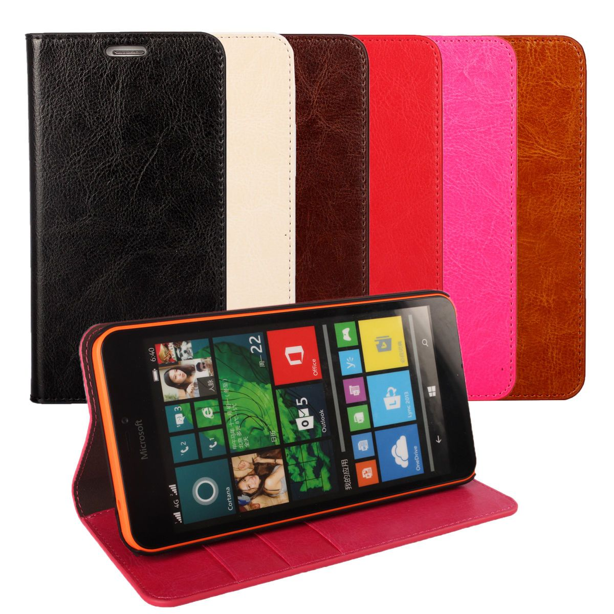 reputable site 79fb3 4d4e8 9.99AUD - Genuine Leather Wallet Card Holder Flip Case Cover For ...