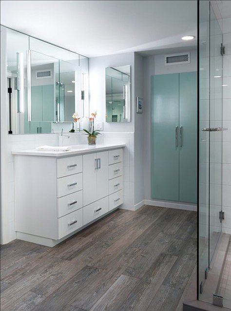Smart Bathroom Vinyl Floor Planks Easy Wood Look Holzfliesen