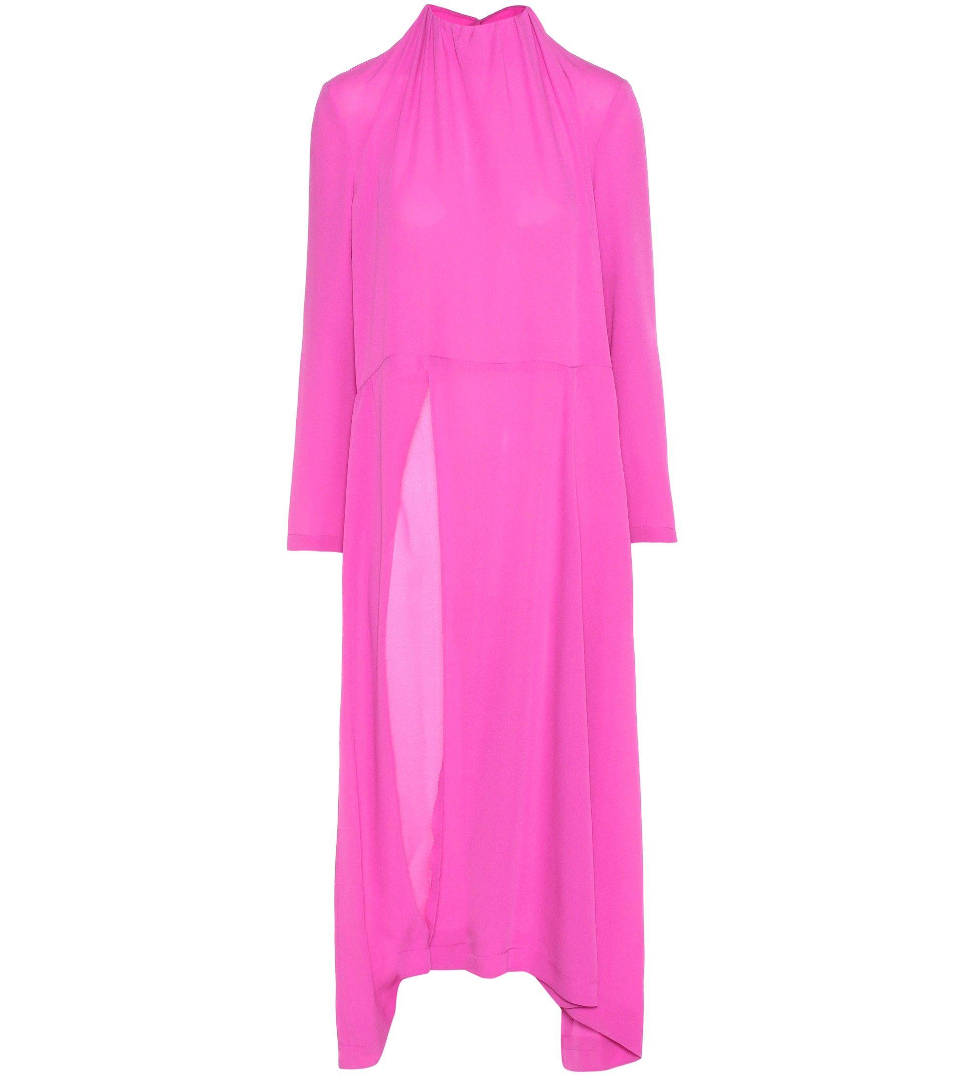 실크 드레스 - Balenciaga |