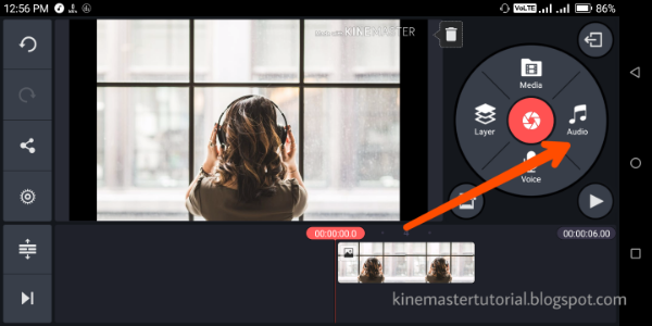 KineMaster music step 2 | KineMaster Tutorials | Add music, Video