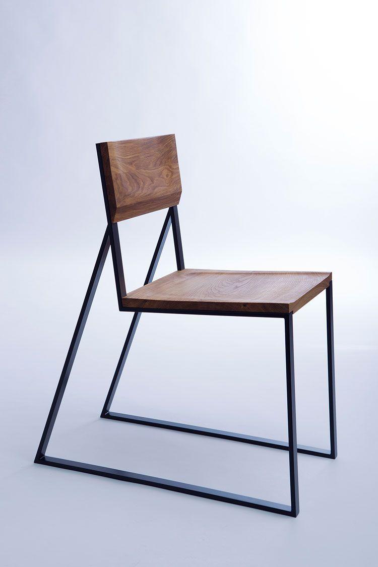 K1 minimalistisches Stuhl-Design mit ausgeprägtem Charakter ...
