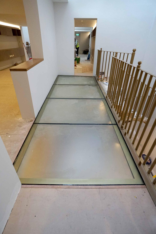 Walk On Glazing And Glass Floor Light Solutions Glass Floor