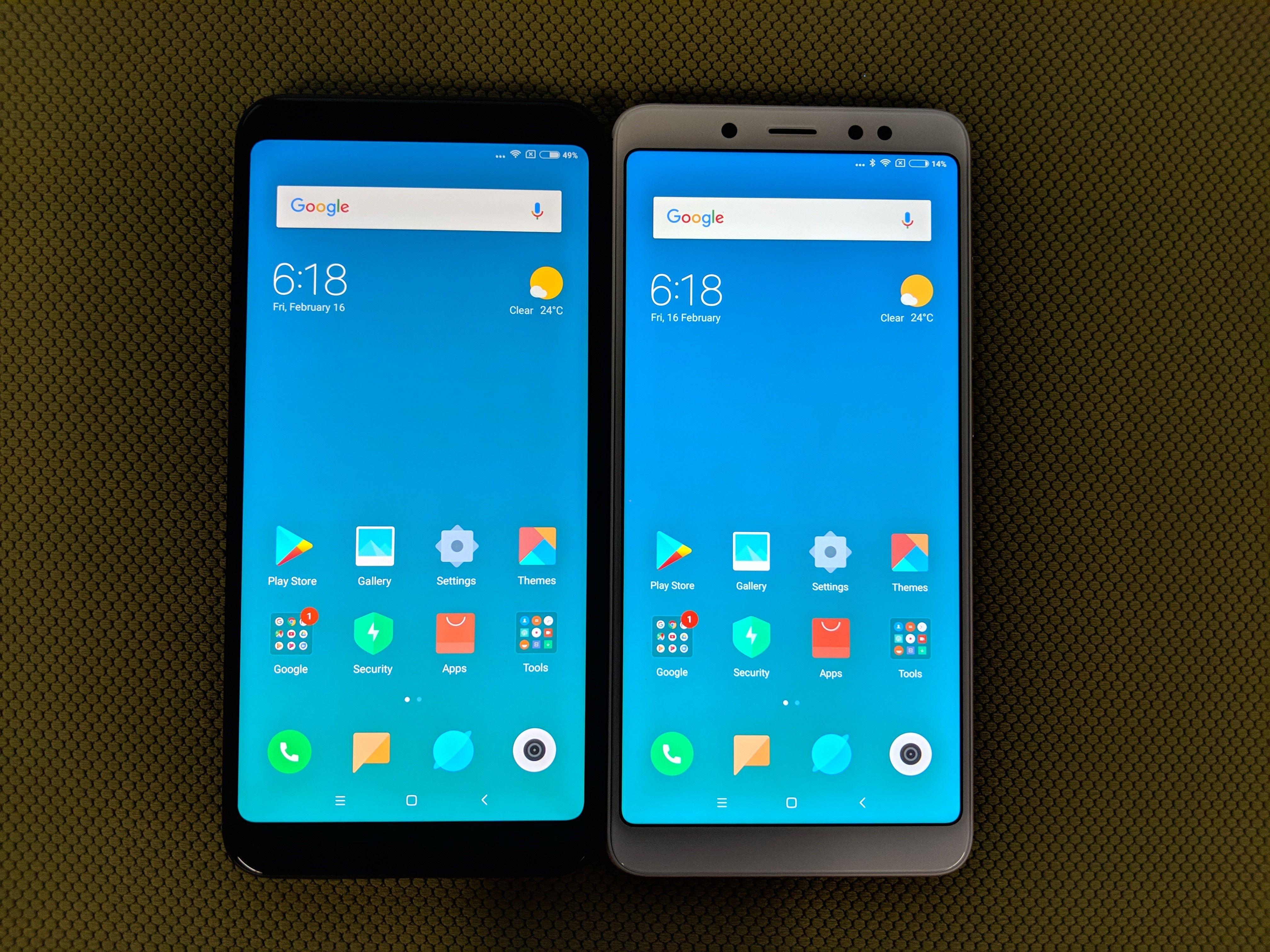 Comparison Xiaomi Redmi Note 5 Vs Redmi Note 5 Pro Xiaomi Note 5 Iphone