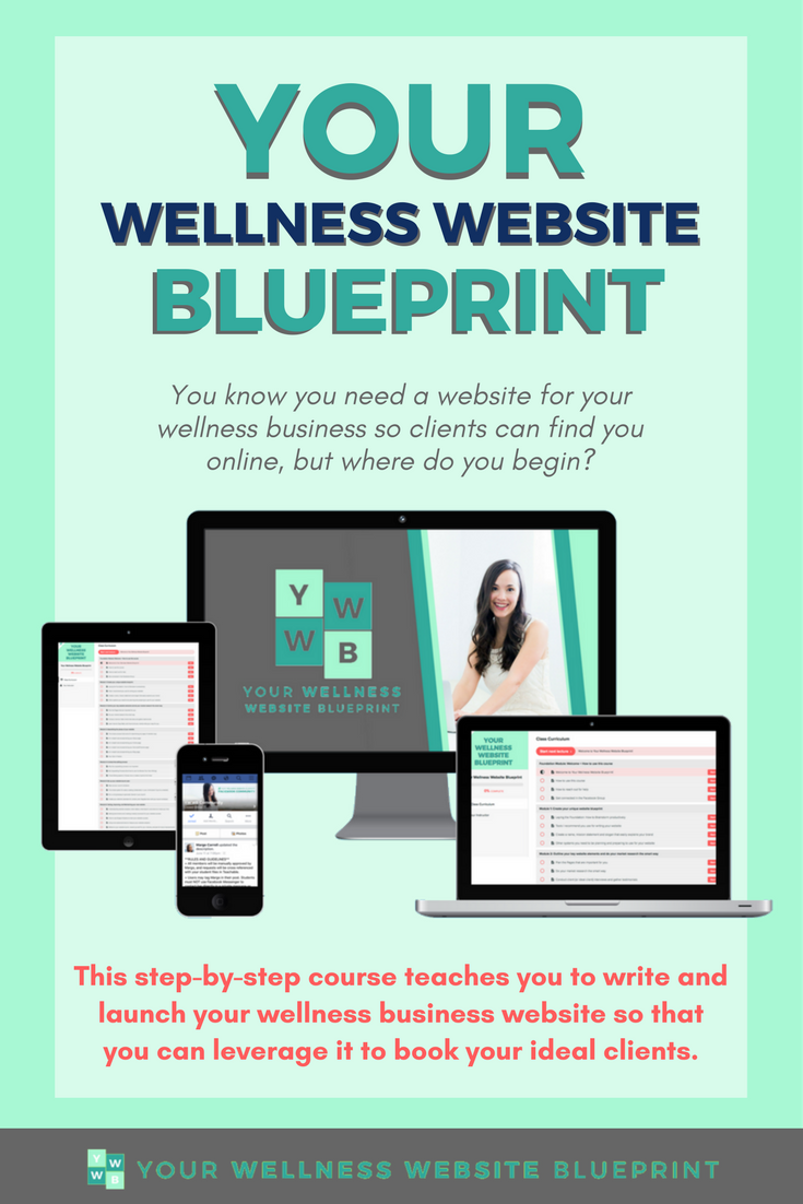 You know you need a website for your wellness business so clients you know you need a website for your wellness business so clients can find you online but where do you begin this step by step course teaches you to write malvernweather Image collections