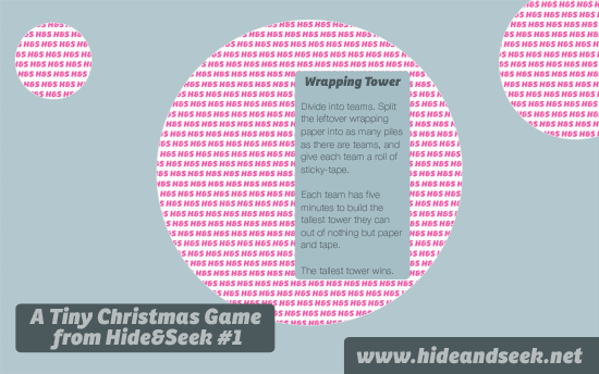 Tiny Christmas Games : Projects : Hide&Seek