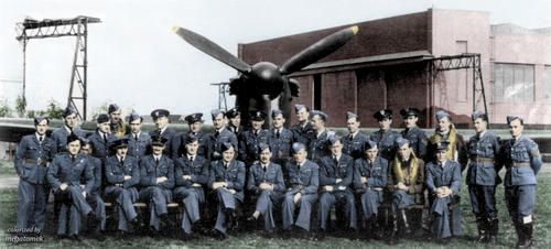 No  302 ( City of Poznan) Polish Fighter Squadron RAF  Taken
