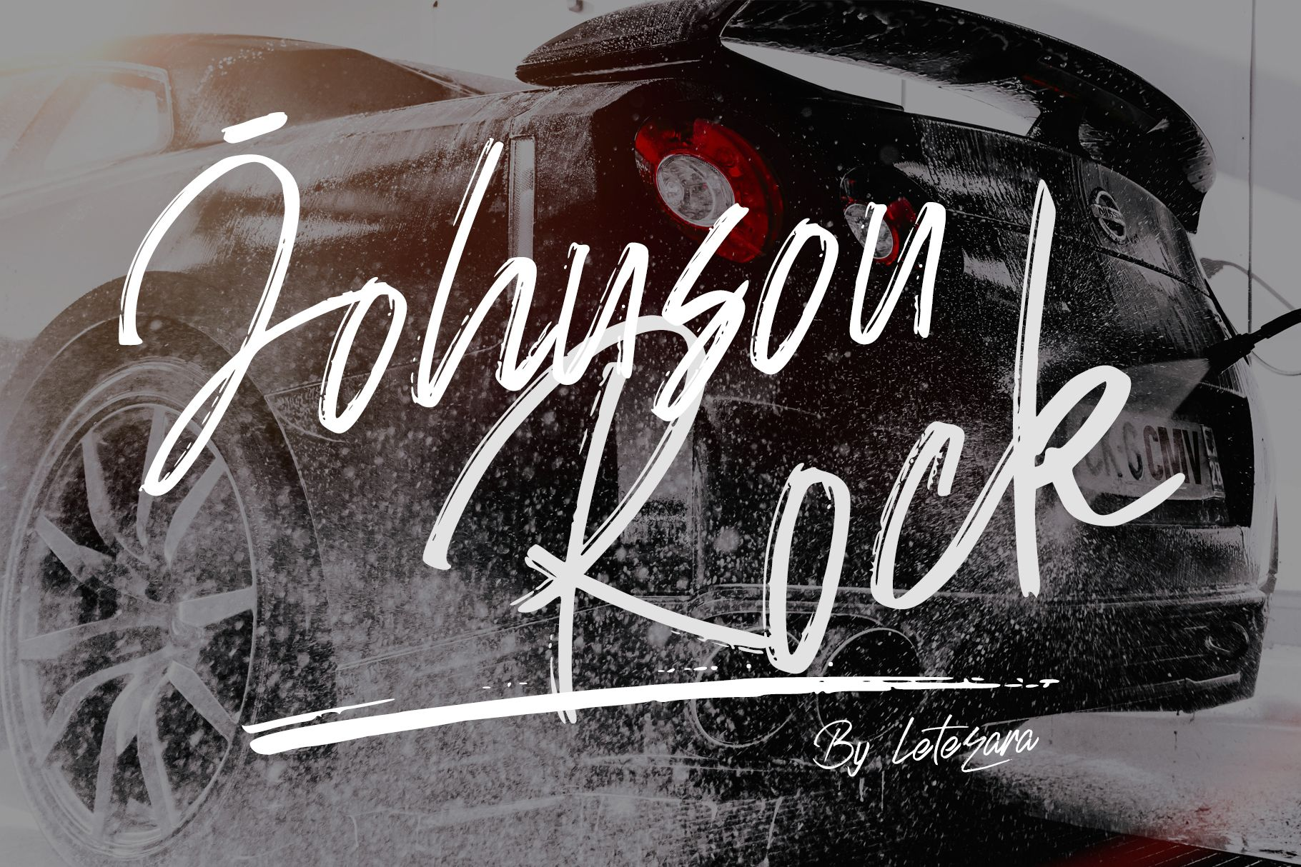 Johnson Rock (Font) by thomasaradea · Creative Fabrica