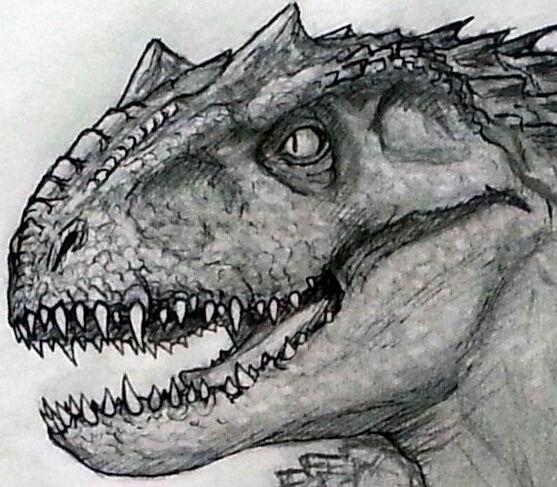 indominus rex by braziliandino jurassic park art pinterest