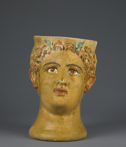 Terracotta kantharosThis drinking cup...aancient greece