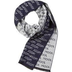 Photo of Joop men's scarf, microfiber, dark blue patterned Joop