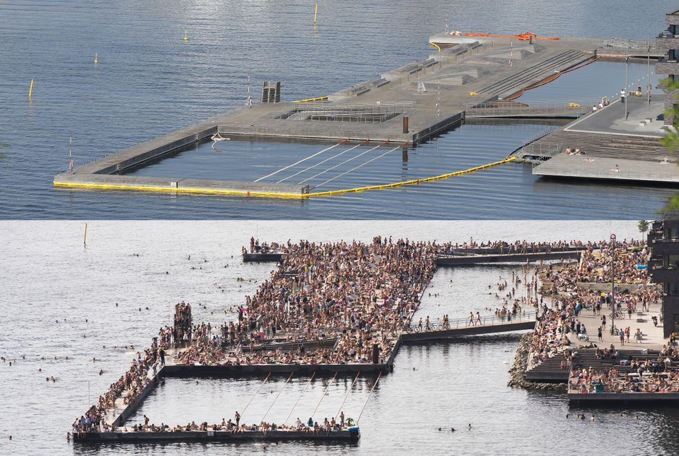 b6a6b80a Sørenga åpnes trolig lørdag formiddag - Aftenposten | Norway ...