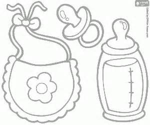 Baby Bottle Coloring Pages Printables Sketch Template Baby Coloring Pages Baby Doll Pattern Cricut Baby Shower