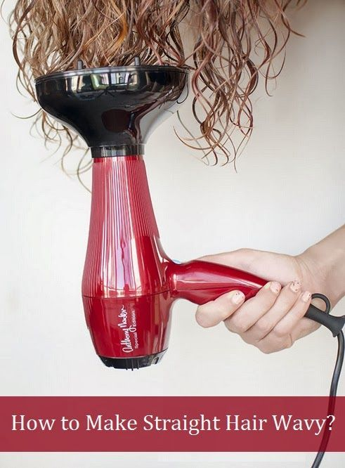 The Ultimate Beauty Guide How To Make Straight Hair Wavy Fast Hair Diffuser Hair Dryer Diffuser Curly Hair Styles