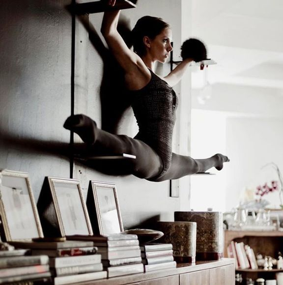 F L O R A H M I S T - #samt #balletfitness