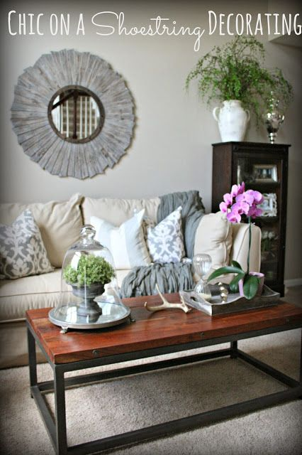 Chic On A Shoestring Decorating Blog Budget Friendly Grey
