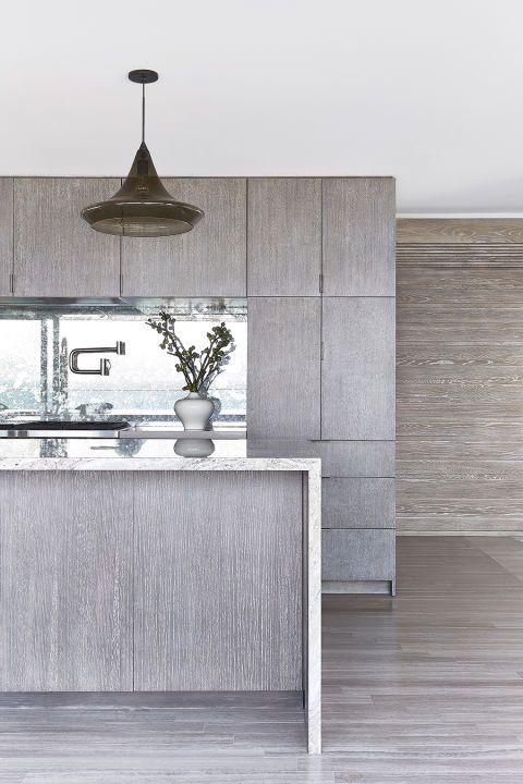50 Stylish Neutral Hued Rooms Grey Kitchen Cabinets Light Grey Kitchens Grey Wood
