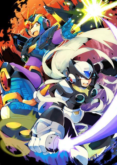 Megaman X Black Zero Mega Man Art Mega Man Anime