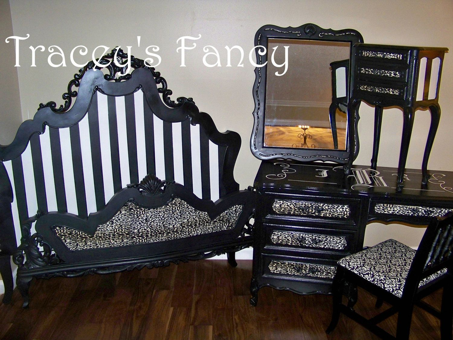 """French Provincial Bedroom Set """"Gone Hollywood"""" - MADE TO ORDER. via Etsy. This suits my style perfectly"""