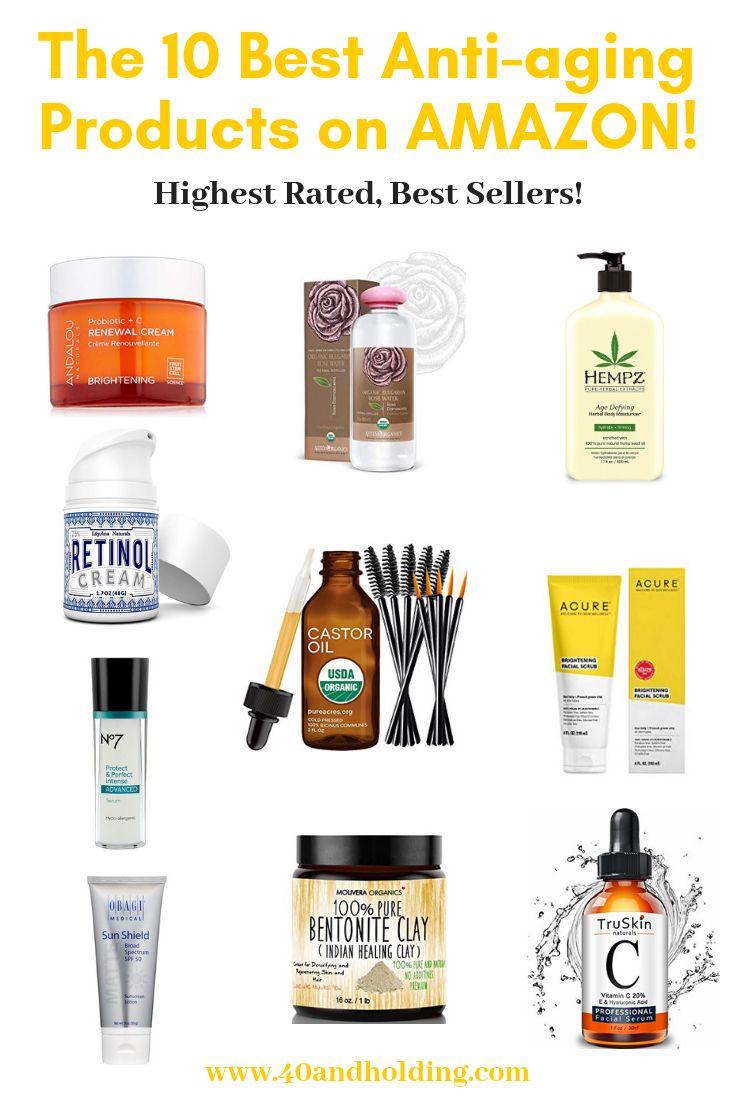 Top Ten Anti Aging Products On Amazon Anti Aging Skin Products Anti Aging Skin Care Beauty Hacks Skincare