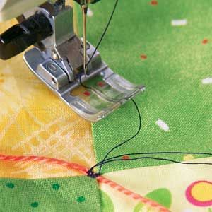 Tying a quilt by machinelayer baste quilt januaryfebruary 2012 tying a quilt by machinelayer baste quilt januaryfebruary 2012 mccalls quilting ccuart Image collections