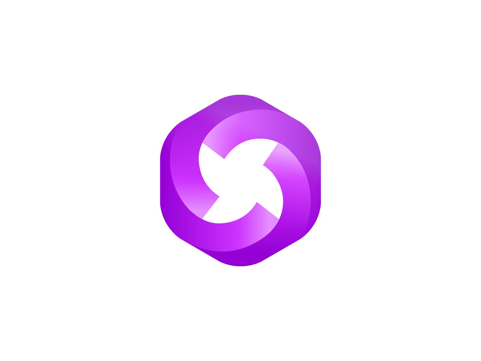 Que Negative space logos, Gradient design, Minimal branding