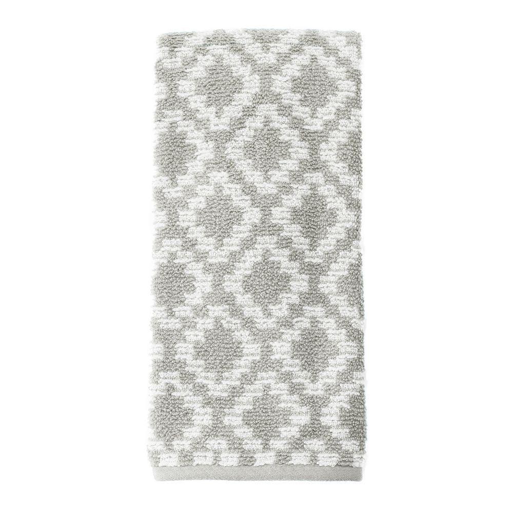 SONOMA Goods for Life™ Quick Drying Diamond Hand Towel, Grey
