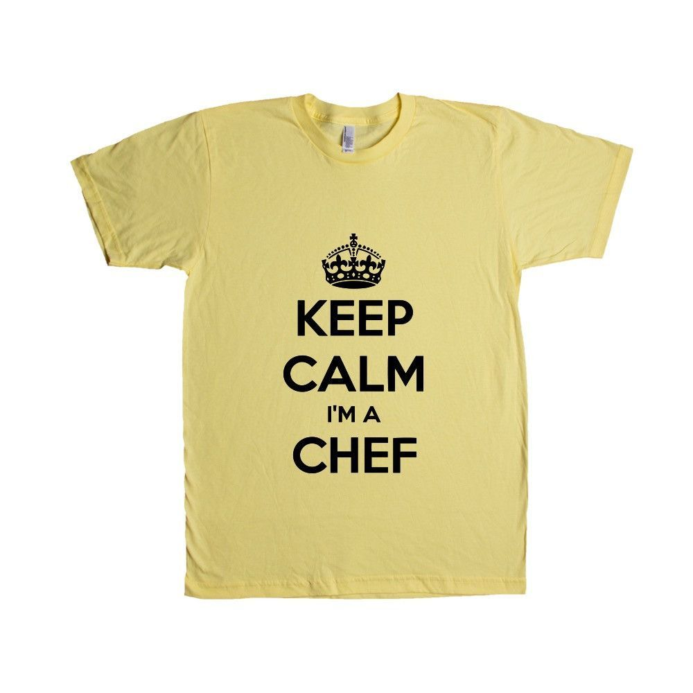 Keep Calm I'm A Chef Cook Cooking Food Foods Profession Catering Caterer Kitchen Restaurant Job Jobs Career Unisex Adult T Shirt SGAL4 Unisex T Shirt