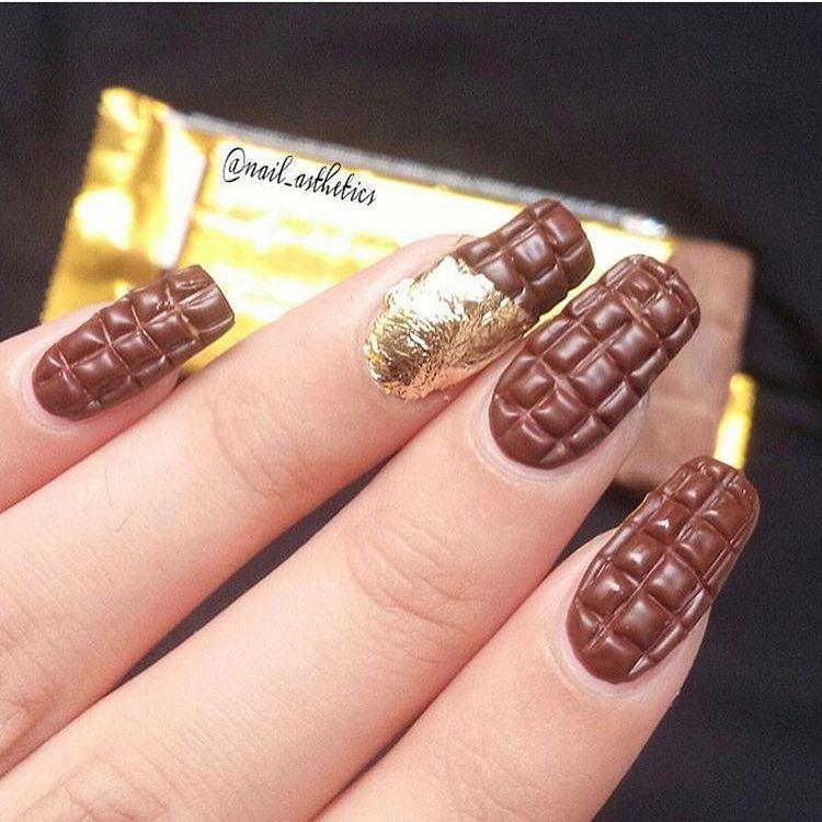 Y yo que como las uñas! No podría tener esto! 😂😂