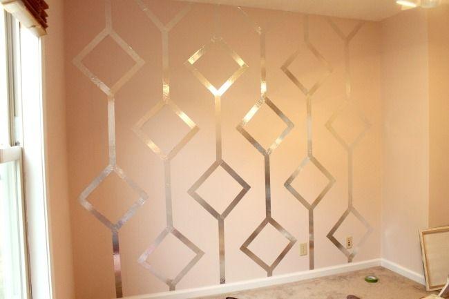 Wall Designs With Tape | Lemon drops, Lemon and Drop